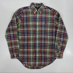 Polo Ralph Lauren Plaid Button-Down Shirt